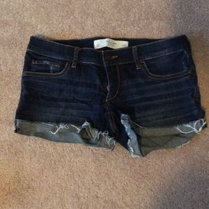 Jean Shorts by Abercrombie